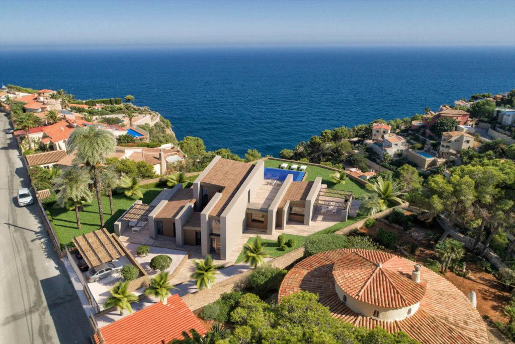Imagen Villa Danna vista aérea