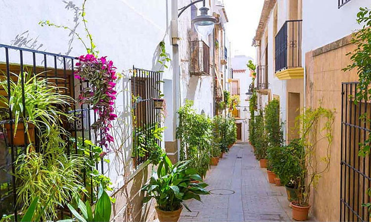 casco antiguo Javea