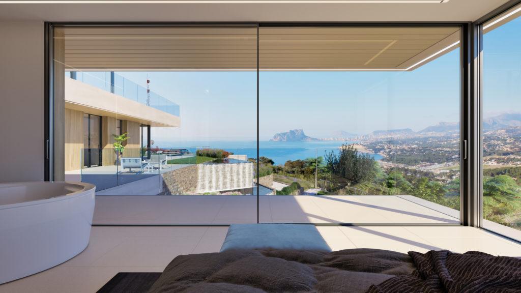 imagen villas felicitas vistas dormitorio