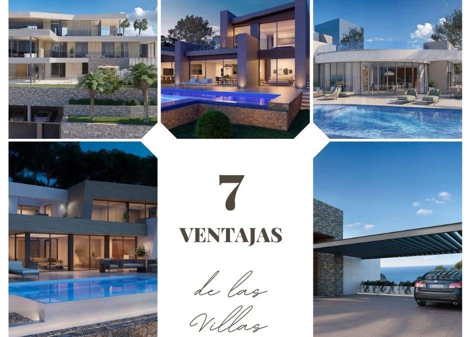 7 ventajas de vivir en una villa